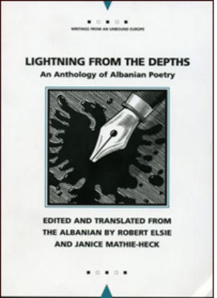 Lightning from the Depths An Anthology of Albanian Poetry
